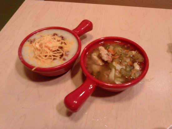 Souplantation & Sweet Tomatoes: some soup choices