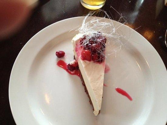 Upstairs Bistro: Maple Cream tarte