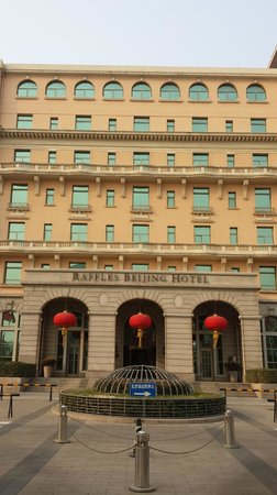 Raffles Beijing Hotel: View from outside
