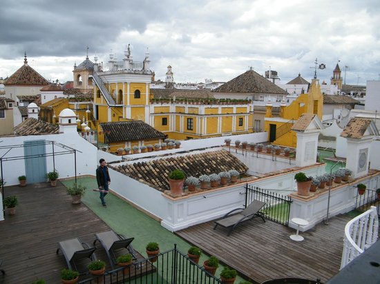 Las Casas de la Juderia : view from terrace