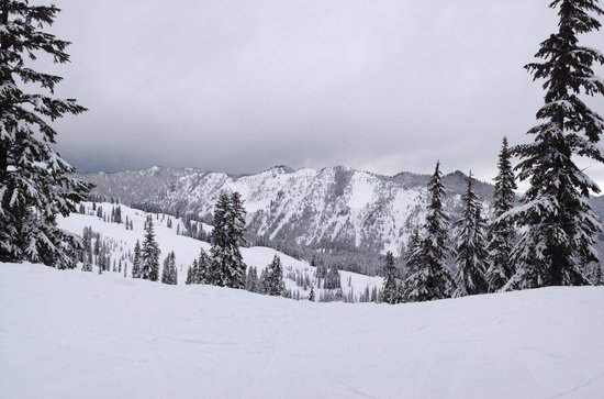 Stevens Pass Ski Area: Fun day at Stevens!