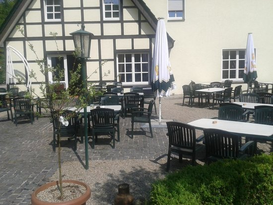 Waldhotel Schipp-Hummert: Terrasse