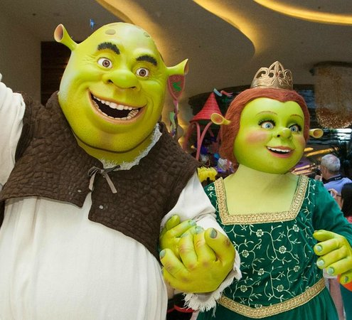DreamWorks Experience at Cotai Strip Resorts: Shrek and Fiona at the Cotai Strip, Macao!
