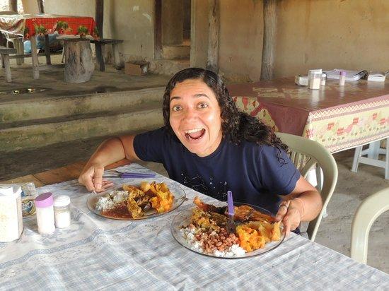 Community Kalunga of Engenho II: O almoço delicioso da Januária