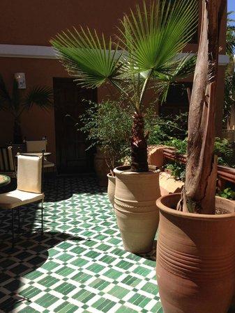 Les Jardins de la Medina : Patio