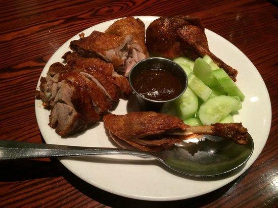 Lieu's Chinese Bistro : Hoison chicken