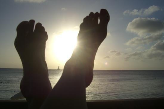 Grand Cayman Marriott Beach Resort : Relaxing