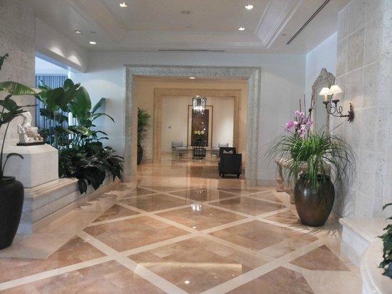 Four Seasons Resort, Palm Beach : Hall de acesso aos quartos