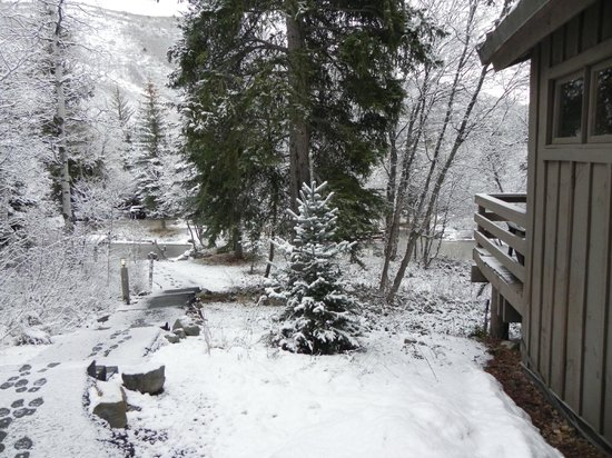 Sundance Resort: View from front door