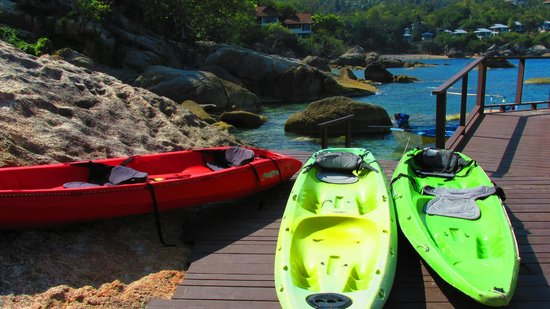 The Kala Samui : Kayaks available for all guests