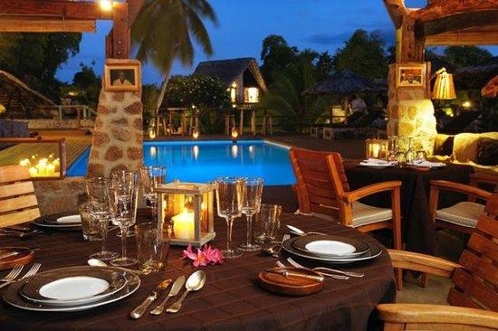 Chateau de Feuilles Restaurant : Le restaurant
