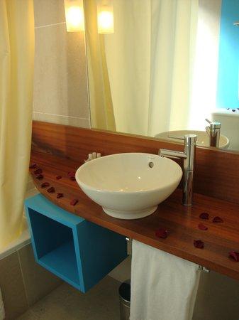 Saboia Estoril Hotel : Ornamentação pacote romatico