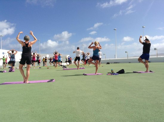 Club La Santa: exercise class