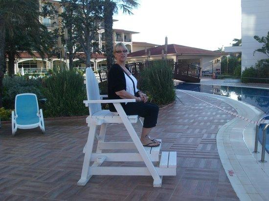 Paloma Oceana Resort: lifeguard