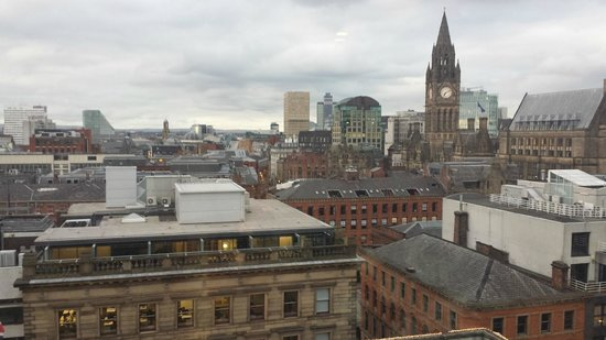 Radisson Blu Edwardian Manchester: View from the Business Room (11th Floor)