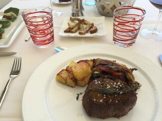 Hidalgo Suites & Restaurant: Filetto