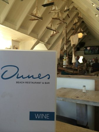 Dunes Beach Restaurant & Bar: Great dishes on this menu