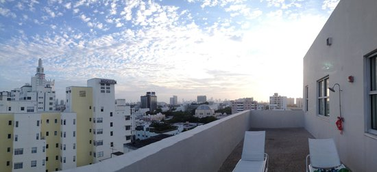 The Raleigh Miami Beach: View from terrace