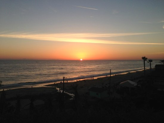 Marriott's Newport Coast Villas : Sunset from Shack Shack