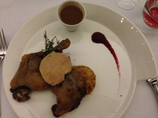 Belga Queen: the saltiest 'candied duckling'/canette confite I have ever had