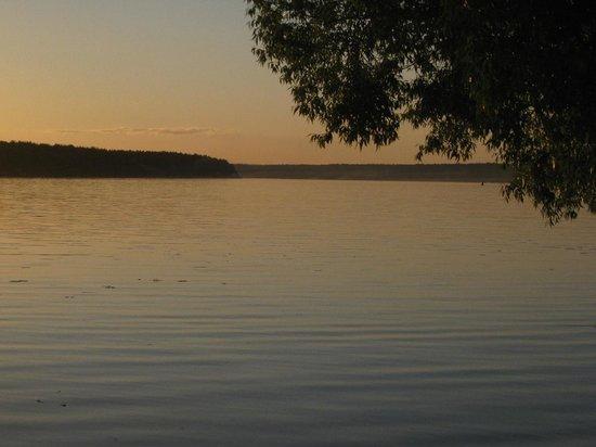 Kimrsky District, Rosja: Волга около пос.Белый Городок
