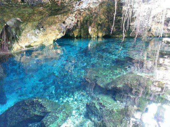 La Calma Casa: Dos Ojos - crystal pure water