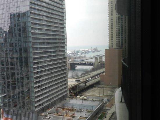 Radisson Blu Aqua Hotel: vue 14eme etage