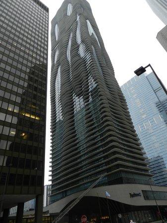 Radisson Blu Aqua Hotel: immeuble
