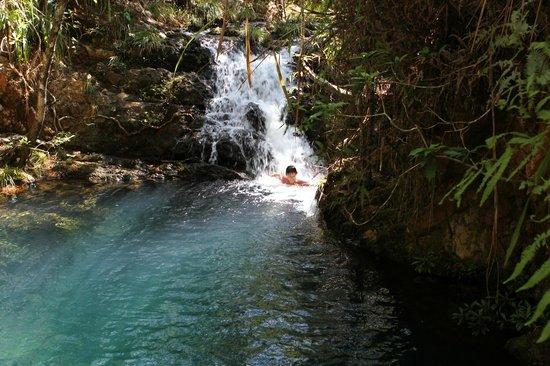 Hidden Valley Inn: secret pool and waterfall