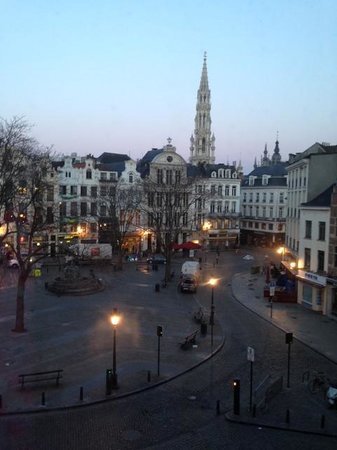 Ibis Brussels off Grand Place: room with a view