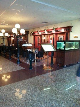 Rushotel : Zona restaurante