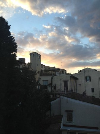 Hotel Cardinal of Florence: tramonto dalla camera