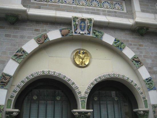 The Belvedere: tilework