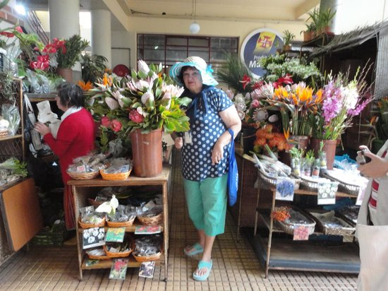 Monte Palace Tropical Garden : На рынке Фуншала