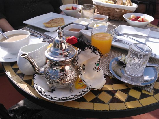 Dar Nakhla Naciria : Detalle del desayuno.
