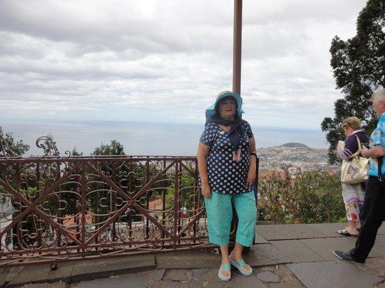 Monte Palace Tropical Garden : Смотровая площадка Фуншала