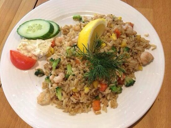 Kahvila-Suomi : Risotto???? Kidding me!!!! They even cannot distinguish what is risotto and fired rice!!!!