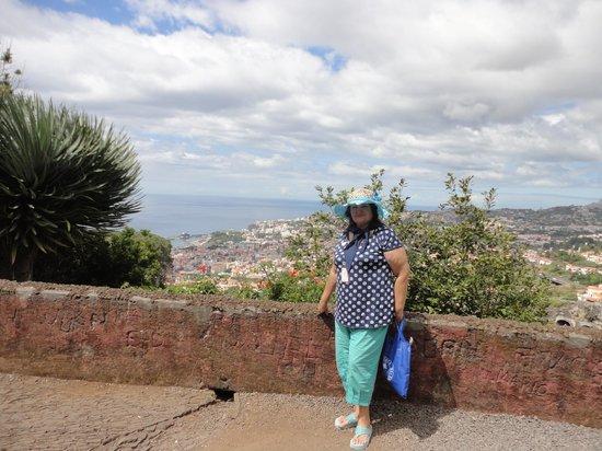 Monte Palace Tropical Garden : Смотровая площадка