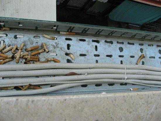"""Hotel Giotto: Altra foto del """"panorama"""" dalla finestra"""