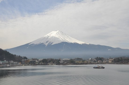 Kozantei Ubuya: Mt. Fuji view from our room!