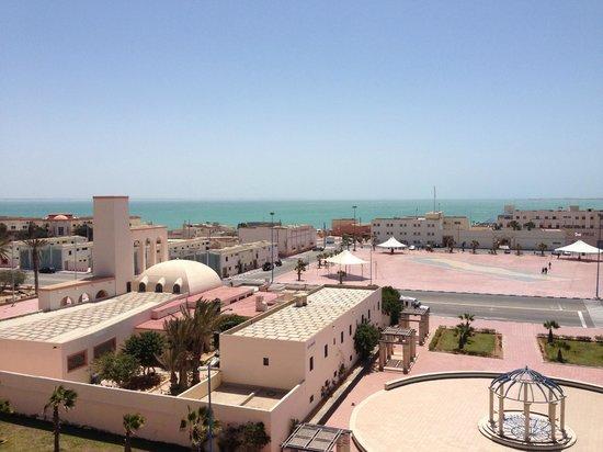 Hotel Sahara Regency: vue depuis le roof top