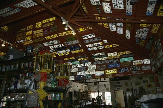 Canyon Roadhouse: All the lost number plates