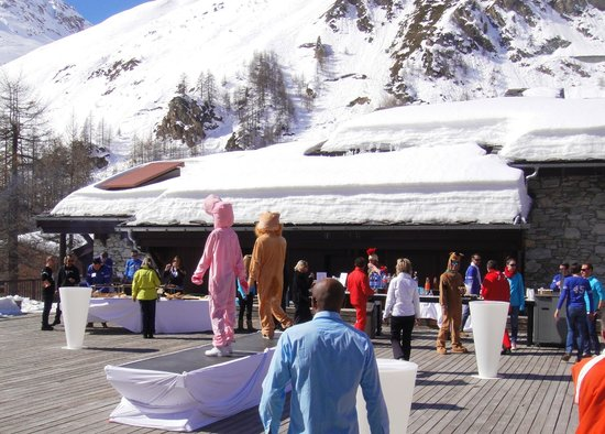 Club Med Val d'Isere : barbecue
