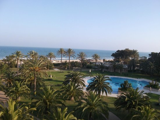 Hotel Palace Oceana Hammamet: View from room 529