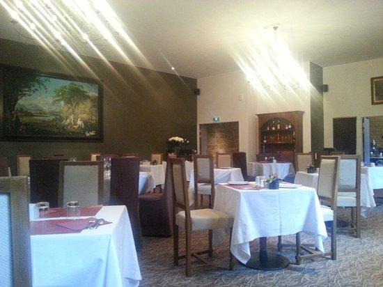 Hotellerie Le Chateau Fort : Une salle à manger des plus luxueuse