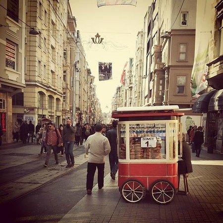 Beyoglu, the heart of Istanbul.