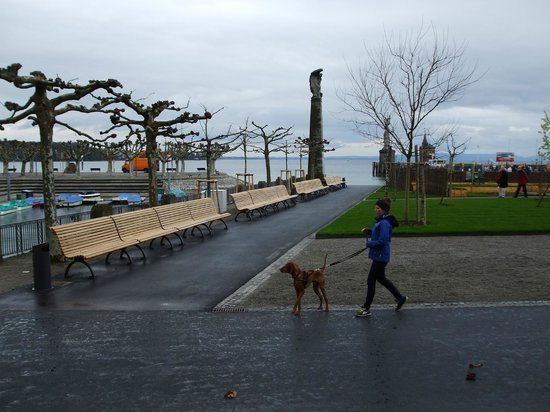 Constance Harbour: Newly renovated grounds April '14