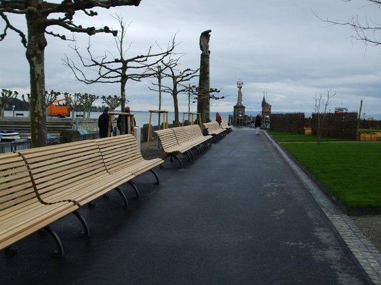 Hafen Konstanz: Newly renovated grounds April '14