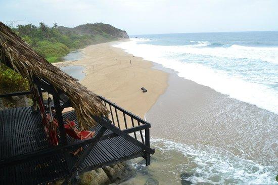 Finca Barlovento Cabana & Maloka : Vue depuis l'hôtel