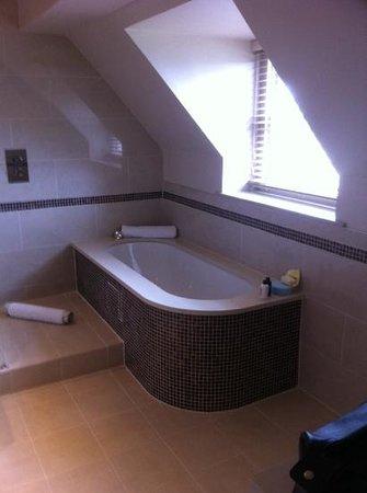 Brockencote Hall Hotel: our bathroom room number 22